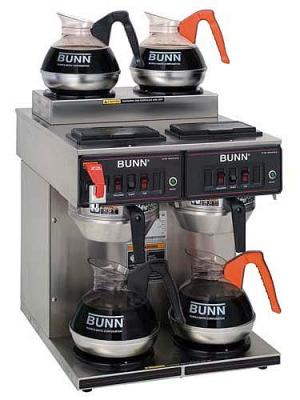 Bunn CWTF 2-2 Twin coffee brewer 220-240Volt, 50/60Hz.
