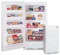 Frigidaire MUFD17V8GW Upright Freezer 220-240 Volt 50/60 Hz