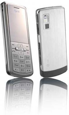 LG Shine KE770 unlocked Triband SILVER GSM Phone,