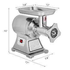 MosaicAL 1100W Electric Meat Grinder 1.5 HP 450Lbs/h Meat Mincer Grinder 110 Volts ONLY FOR USA