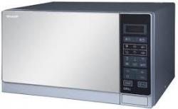 Sharp R-75MT 25 Liter Microwave Oven With Grill for 220 Volts, 50hz NOT FOR USA