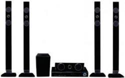 JVC TH-DTN300 Tall Boy DVD Bluetooth Hi-Fi System for 110 - 240 VOLTS