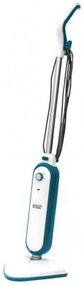 Russell Hobbs RHSM1001-G Steam and Clean Steam Mop White & Aqua - Free 2 year guarantee [Energy Class A] 220-240 Volts NOT FOR USA
