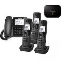 Panasonic KX-TGF324E Corded and Cordless Nuisance Call Block Combo Telephone Kit 220 VOLTS NOT FOR USA