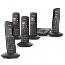 Gigaset C570A Cordless Phone Five Handset 220 VOLTS NOT FOR USA