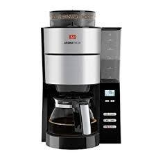Melitta 1021-01 AromaFresh filter coffee machine, stainless steel, black 220 VOLTS NOT FOR USA