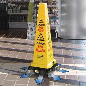 BI HURRICONE HSC6000 Cord-Free Battery Operated Caution / Safety Cone Floor Dryer 220 volts NOT FOR USA