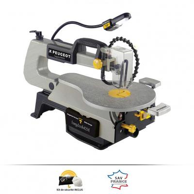 Peugeot ENERGYSCROLL-400VE 132159 Scroll Saw, 80 W 220-240 Volts NOT FOR USA