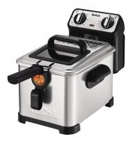 Tefal FR5101 Fryer Filtra Pro Inox and Design, Timer, Insulated, Oil System, 2300W, Stainless Steel / Black, Stainless steel / black 220-240 Volts NOT FOR USA
