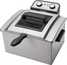 ProfiCook PC-FR 1038 Stainless Steel Double Deep Fatfryer 220-240 Volts NOT FOR USA
