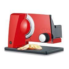 Graef S11003 Slicer, Red 220 VOLTS NOT FOR USA