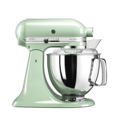 KITCHENAID ARTISAN 5KSM175PSEPT 5 QT.STAND MIXER (PISTACHIO) WITH TWO BOWLS & FLEX EDGE BEATER 220 VOLTS NOT FOR USA