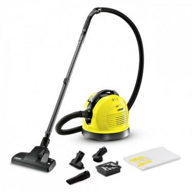 Kärcher VC 6 - vacuum cleaners (Cylinder, A, Home, Carpet, Hard floor, Yellow, HEPA) (Not For USA)