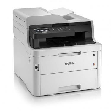 Brother MFC-L3750CDW Compact 4-in-1 Colour Multifunction Device White 220-240 VOLTS (NOT FOR USA)