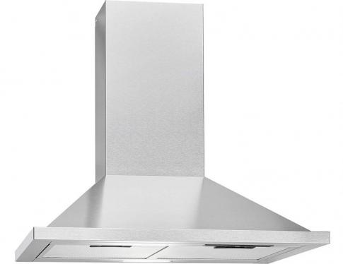 Bomann DU 652.1 IX Cooker Hood / Energy Efficiency B / 60 cm / Circulation or Extraction Operation / LED Lighting / 338.6 m3/h / Stainless Steel [Energy Class B]