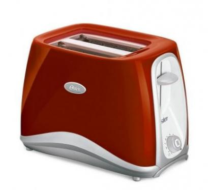 Oster 6544RD-053 Pop Up 2 Slice Toaster, Red (220 Volts – Not For USA)