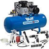 Wolf Dakota 90 Litre, 3HP, 14CFM, 240v, MWP 150psi, 220 VOLTS NOT FOR USA
