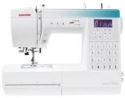 Janome Sewist 780DC Computerised Sewing Machine 220 VOLTS NOT FOR USA