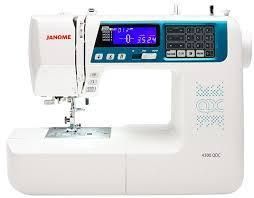 Janome 4300QDC Computerised Sewing Machine Sewing Machines 220 VOLTS NOT FOR USA