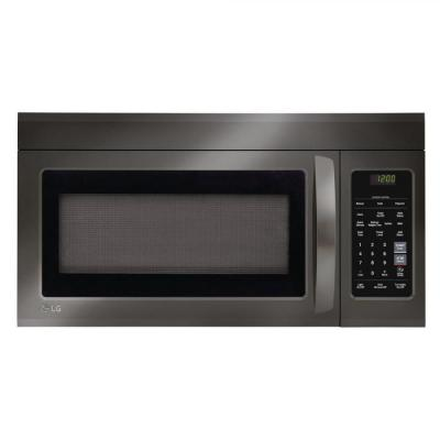 LG LMV1831BD 1.8 Cu. Ft. Black Stainless Over-The-Range FACTORY REFURBISHED (ONLY FOR USA)