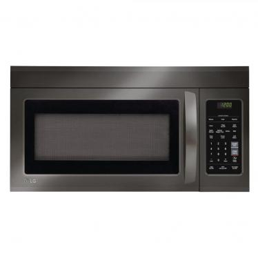 LG LMV1831BD 1.8 Cu. Ft. Black Stainless Over-The-Range REFURBISHED Microwave 220 VOLTS NOT FOR USA