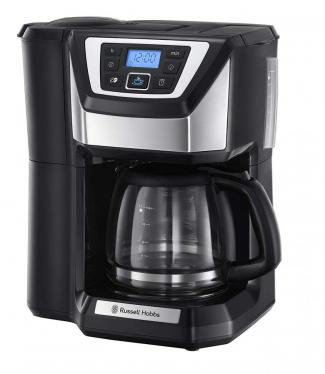Russell Hobbs 22000 Chester Grind and Brew Coffee Machine – Black 220 volts NOT FOR USA