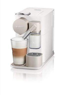 De'Longhi 0132193272 Lattissima One EN500.W Single Serve Coffee Machine, 18/10 Steel, 1400 W, 1 Liter, White [Energy Class A++] 220 VOLTS NOT FOR USA