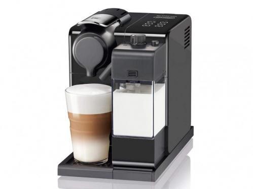De'Longhi Lattissima Touch EN560.B Nespresso Coffee Machine, Plastic, 1400 W, Black 220 VOLTS NOT FOR USA