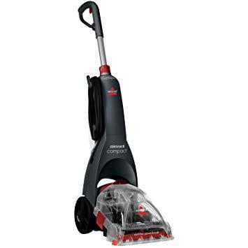 BISSELL 48X4E InstaClean Compact , Titanium/Red 220 VOLTS NOT FOR USA