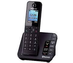 Panasonic KX-TGH260 Link2Mobile Bluetooth Cordless Phone with Call Blocker 220 VOLTS NOT FOR USA