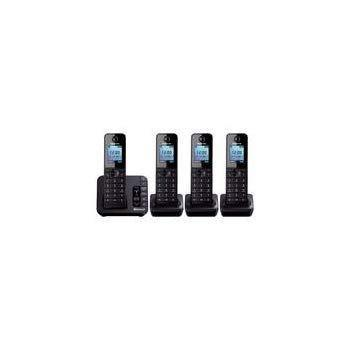 Panasonic KX-TGH264EB - Link to Mobile - Cordless Quad Dect Phone 220 VOLTS NOT FOR USA