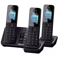 Panasonic KX-TGH263EB Trio Digital Cordless Answerphone 220 VOLTS NOT FOR USA