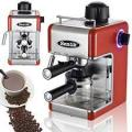 Sentik 9307933 Professional Espresso Cappuccino Coffee Maker Machine Red 220 VOLTS NOT FOR USA
