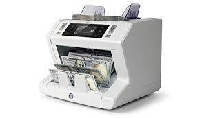 Safescan 2610 Automatic Bank Note Counter with UV Counterfeit Detection Count 220 VOLTS NOT FOR USA