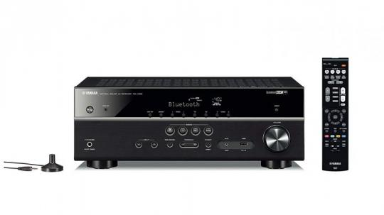 Yamaha RX-V485 – Alexa compatible MusicCast AV receiver with Wi-Fi and Bluetooth – 5.1 Cinema Surround Sound – Black 220-240 VOLTS NOT FOR USA