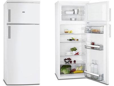 AEG RDB72721AW Top Freezer Refrigerator 220-240Volt 50Hz NOT FOR USA