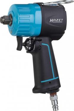 Hazet 9012MT Compressed Air Impact Wrench Max Torque 1400 Nm, Square 12.5 mm (1/2 Inch) Extra Short, Recommended Torque 620 Nm, Heavy Duty Twin Hammer Impact Mechanism 9012MT 220-240 VOLTS NOT FOR USA