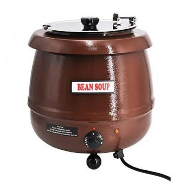 SYBO SB-6000-1B Commercial Grade Soup Kettle- Brown 220 volts NOT FOR USA