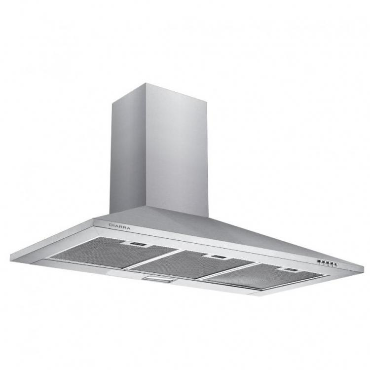 Ciarra Cbcs9201 90 Cm Chimney Cooker Hood Stainless Steel 900 Mm Range Hood Kitchen Extrac