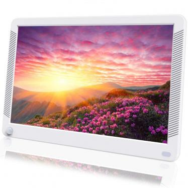 Digital Photo Frame 10 Inch 1920x1080 Motion Sensor 16:9 IPS Screen, Auto Rotate, Auto Turn, Background Music, 220VOLT, (NOT FOR USA)