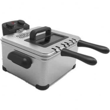 Frigidaire FDDF-1002 Dual Tray Stainless Steel 220 volt Deep Fryer 220v 240 volts 50 hz (NOT FOR USA)
