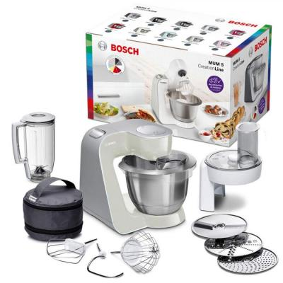Bosch MUM58W20 Food Processor Creation Line Stainless Steel 3.9 Liters, without citrus press, 220VOLT, (NOT FOR USA)