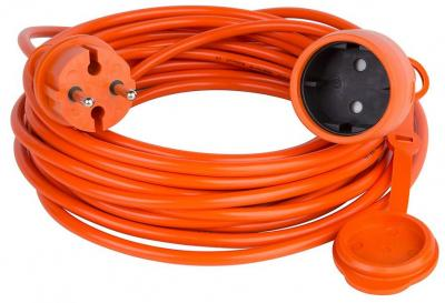 Extension Power Cable 10 Mtr(32ft) Garden Orange 220VOLT (NOT FOR USA)