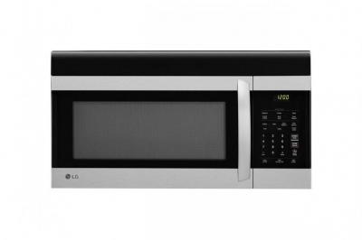 LG LMV1760ST - 1.7 cu. ft. Over The Range Microwave, Stainless Steel, 110VOLT, FACTORY REFURBISHED (ONLY FOR USA)