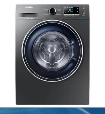 Samsung WW80J5446FX Eco Bubble 8 Kg Washing Machine, 220Volt (NOT FOR USA)