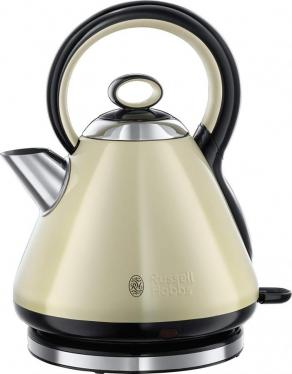 Russell Hobbs 21888 Legacy Quiet Boil Cream  Electric Kettle 1.7 Liter 3000W, 220VOLT (NOT FOR USA)