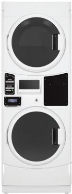 Maytag MLE22PRAYW Commercial Electric Super-Capacity Stack Washer/Dryer 220/240 Volts 60 Hz