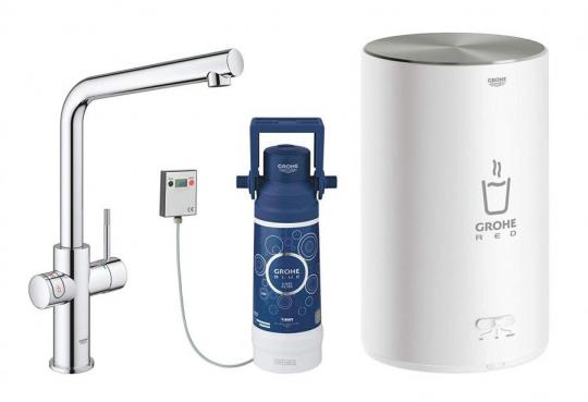 GROHE 30341001 | Red 2.0 Duo Tap | 4L Boiler 220-240 VOLTS (NOT FOR USA)