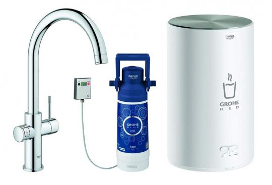 GROHE 30058001 | Red 2.0 Duo Tap | 4L Boiler 220-240 VOLTS (NOT FOR USA)