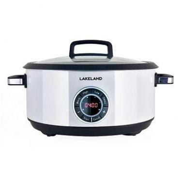 Lakeland 61767 Digital Family Sized Slow Cooker 6.5L with 24 Hour Delay Timer 220 VOLTS (NOT FOR USA)